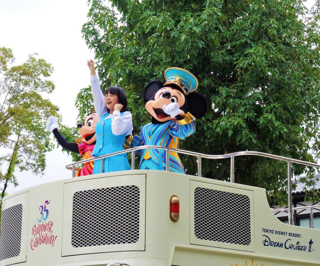 東京ディズニーリゾート35周年スペシャルパレード