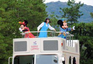 東京ディズニーリゾート35周年スペシャルパレード「京都岡崎ハレ舞台」
