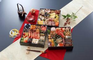 京都料亭のおせち料理